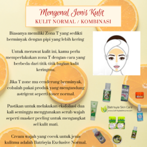 Kulit Normal & Perawatan Ala Batrisyia Herbal