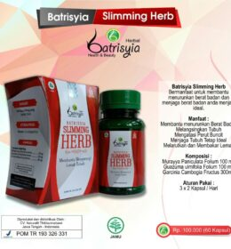 Slimming Herb Batrisyia Herbal / Jamu pelangsing